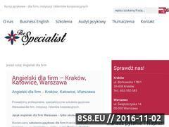 Miniaturka domeny thespecialist.pl