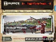 Miniaturka domeny www.thunder.com.pl