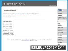 Miniaturka domeny tibia-stat.org