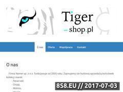Miniaturka domeny tiger-shop.pl