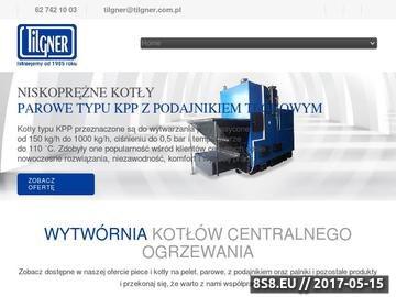 Zrzut strony Palniki