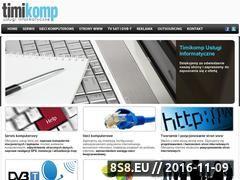 Miniaturka domeny www.timikomp.pl