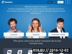 Miniaturka domeny www.timocom.pl