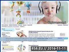 Miniaturka Zabawki dla niemowląt (www.tinylove.com.pl)