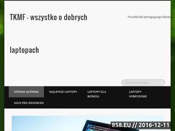 Zrzut strony Tkmf.pl - notebooki, laptopy, netbooki