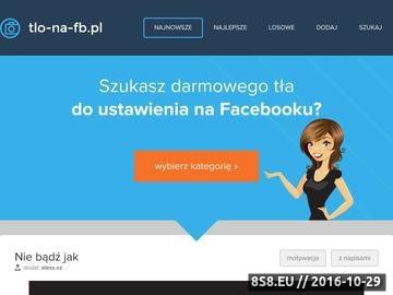 Zrzut strony Tło na FB czyli tła za darmo - tapety, zdjęcie i obrazki