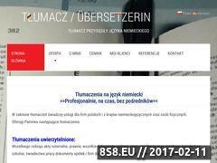 Miniaturka domeny tlumacz-niemiecki.net