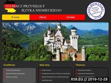 Zrzut strony Tłumacz niemieckiego Wałbrzych