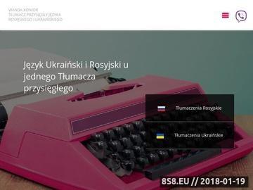 Zrzut strony Tłumacz przysięgły Kraków