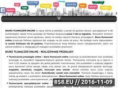 Miniaturka domeny tlumacze-online.pl