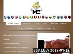 Miniaturka domeny tlumaczenia-mireva.pl