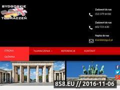 Miniaturka domeny www.tlumaczeniabydgoszcz.com.pl