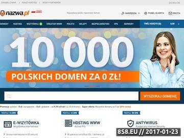Zrzut strony TlumaczFrancuskiego.eu - tłumaczenia językowe