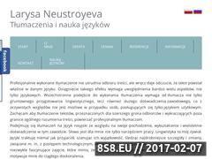 Miniaturka domeny tlumacznarosyjski.pl