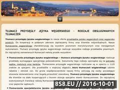 Miniaturka domeny tlumaczwegierskiego.pl