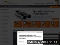 Miniaturka domeny tlumikisklep.pl