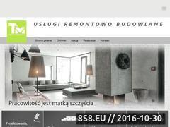 Miniaturka domeny www.tmbudownictwo.pl