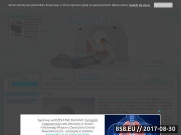 Zrzut strony Tomografia komputerowa Warszawa