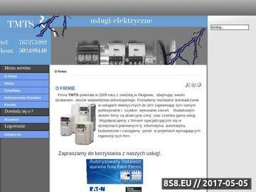 Zrzut strony Elektryk Głogów