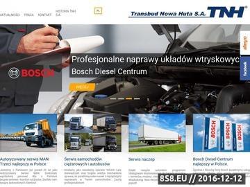 Zrzut strony Bosch Diesel Centrum Serwis Układów Wtryskowych w Krakowie