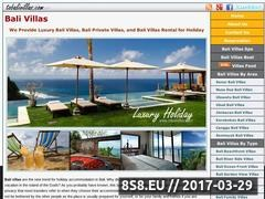 Thumbnail of Bali Luxury Villas Website