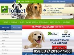 Miniaturka domeny www.tofivet.pl