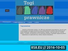Miniaturka domeny togi-prawnicze.com.pl