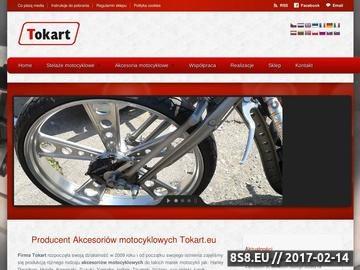 Zrzut strony Części, stelaże i akcesoria do motocykli