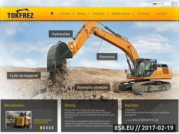 Zrzut strony Serwis maszyn budowlanych