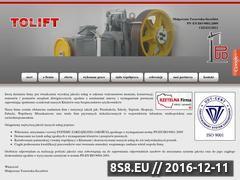 Miniaturka domeny www.tolift.pl