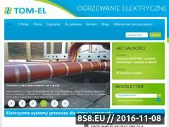 Miniaturka domeny www.tom-el.com.pl