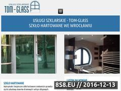 Miniaturka domeny tom-glass.pl