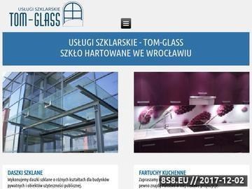 Zrzut strony Szkło hartowane Wrocław