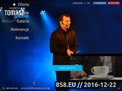 Miniaturka domeny www.tomaszjusza.com