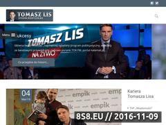 Miniaturka Tomasz Lis - jedyna nieoficjalna strona (www.tomaszlisnieoficjalnie.pl)
