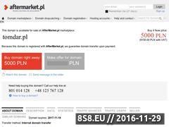 Miniaturka domeny www.tomdar.pl