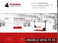 Miniaturka domeny tomek-serwis.pl