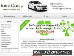 Miniaturka domeny www.tomi-cars.pl