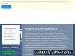 Miniaturka domeny www.tomvet.pl