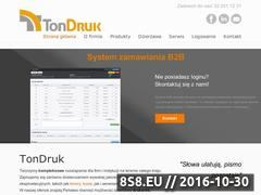 Miniaturka domeny tondruk.pl