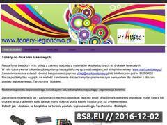 Miniaturka domeny www.tonery-legionowo.pl