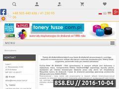 Miniaturka domeny tonery-tusze.com.pl