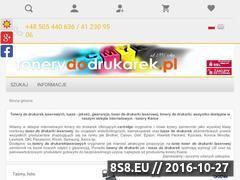 Miniaturka domeny tonerydodrukarek.pl