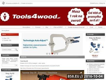 Zrzut strony Autoryzowany dystrybutor narzędzi Kreg oraz Tacwise