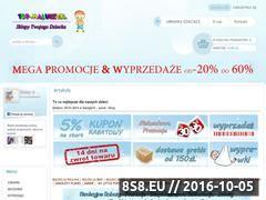 Miniaturka domeny www.top-maluszek.pl