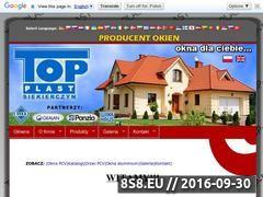 Miniaturka domeny www.top-plast.pl