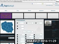 Miniaturka domeny www.topbiura.pl