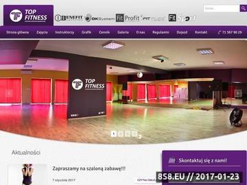 Zrzut strony Klub fitness Wrocław