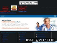 Top Healthcare Leads Offers Certified Nurse List Website