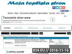 Miniaturka domeny www.toplista.katkara888.com